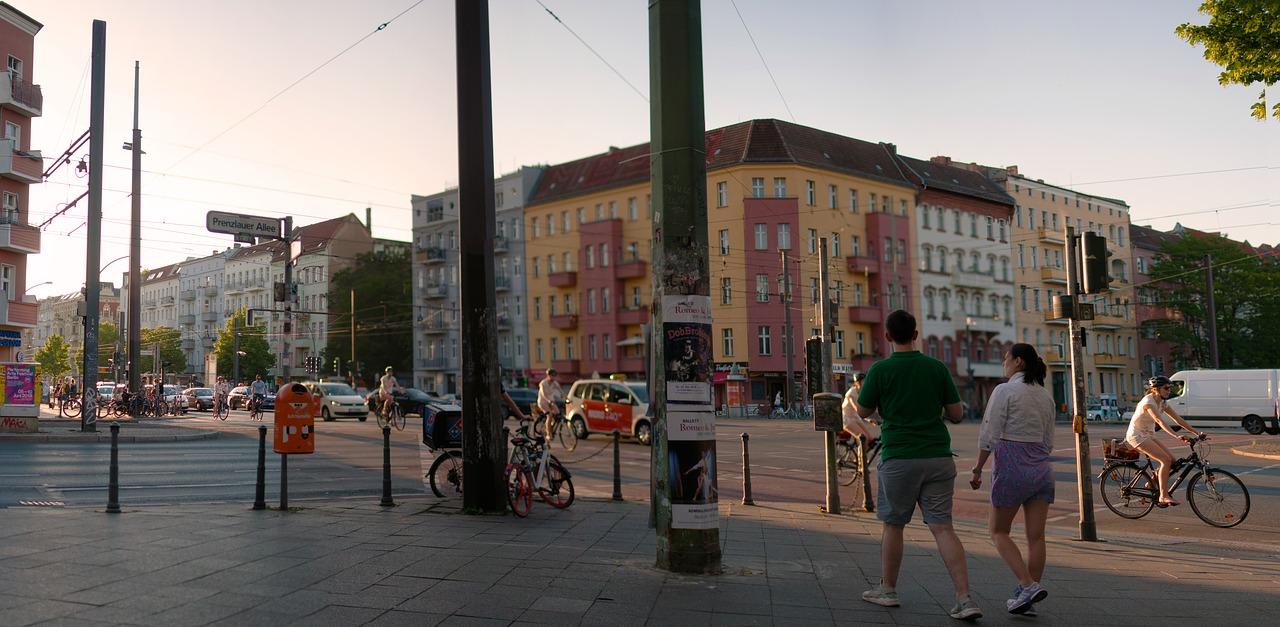 Kreuzung Eberwalder sieht fast genauso aus wie 1989